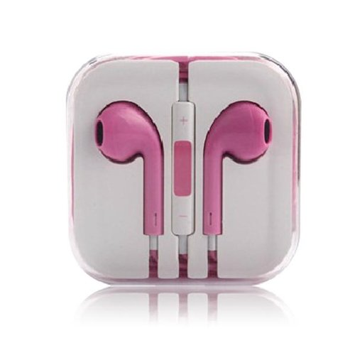 Thinkcase 3.5Mm Earphone Earbud Headphones With Remote & Mic For Apple Iphone 4S 5 5C Ipod 07#