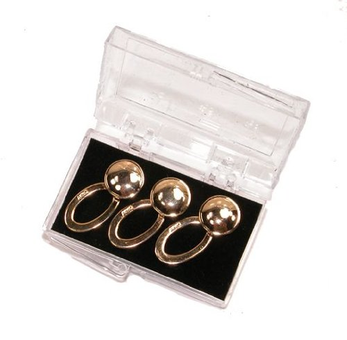 Gold Finish Collar Extenders - Set of 3 - by Geoffrey Beene