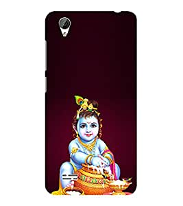 ifasho Lord Krishna stealing curd Back Case Cover for VIVO Y31L
