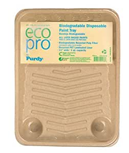 "Ecopro Biodegradable Pulp Disposable Paint Tray 11"" (Pack of 10)"