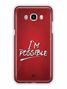 YuBingo I'm Possible Designer Mobile Case Back Cover for Samsung Galaxy J5 2016