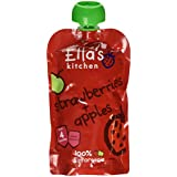 Ella's Kitchen Stage 1 From 4 Months Organic Apple and Strawberry 120 g (Pack of 7)