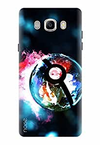 Noise Designer Printed Case / Cover for Samsung Galaxy J7 - 6 (New 2016 Edition) / Animated Cartoons / Lights Of Pokemon Design