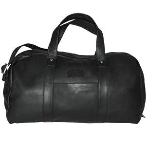 Pangea Brands San Antonio Spurs Black Leather Corey Duffel Bag by Pangea Brands