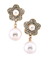 8 Republic London Mother's Day Special Floral Blossam Dainty Earrings For Women