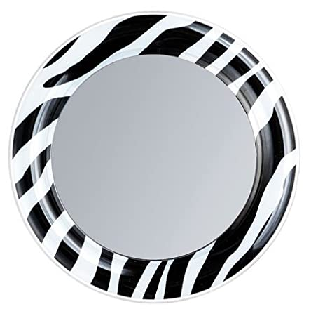 zebra locker mirror