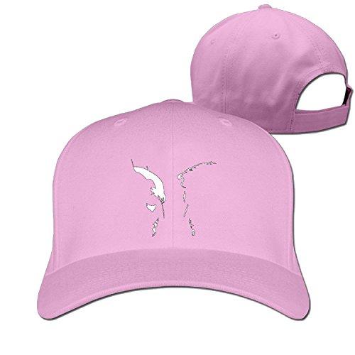 Truck caps Cool Men Women Bat V Super cartoon charachter cap Pink (5 colors) (Cartoon Charachters)