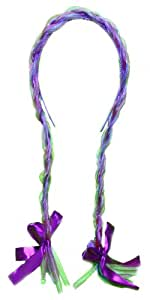 WeGlow International Purple Light Up Hair Braid Headband (Pack Of 2)