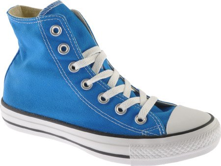Details for Converse Unisex Chuck Taylor? All Star? Seasonal Hi Electric Blue Lemonade Men's 11.5 Medium by Converse Inc.