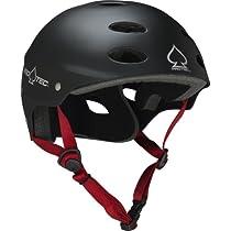 Pro-tec Ace Skate Matte Skateboard Helmet, Black, Large