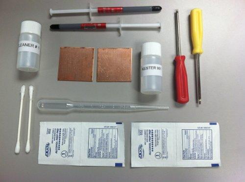 ps3-slim-playstation-3-ylod-shims-fix-repair-kit-kester-951-flux-thermal-paste-t8-t10-tamper-screwdr