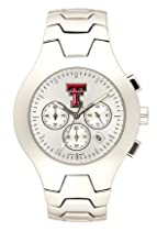 Texas Tech Red Raiders Hall Of Fame Sterling Silver Watch