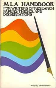 mla handbook for writers of research papers joseph gibaldi free download