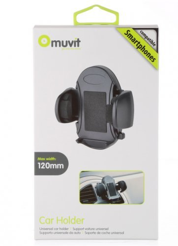 Omuvit support voiture large grille aération Sony Xperia e4g