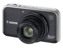 Canon PowerShot SX210IS 14.1 MP Digital Camera with 14x Wide Angle Optical Image Stabilized Zoom and 3.0-Inch LCD - Black