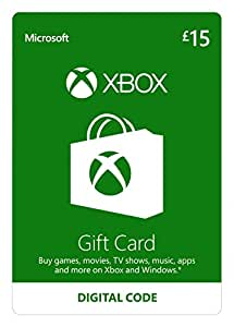 Xbox Live £15 Gift Card [Online Game Code]