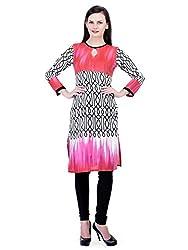 FAIRENO Women's Long Kurti