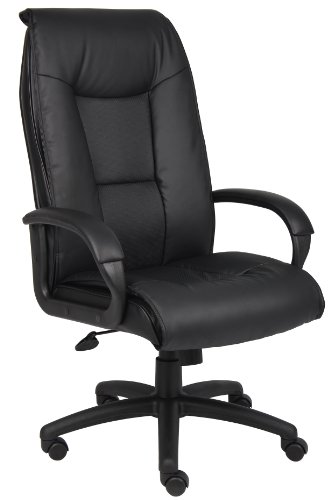 boss-office-products-b7601-executive-leatherplus-chair-with-padded-arms-in-black