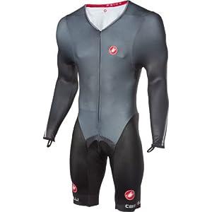 Castelli Body Paint 2.0 Speed Suit LS, Black, XXX-Large