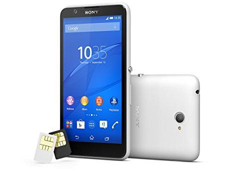 Sony XPERIA E4 dual E2115 海外SIMフリー携帯 (White)