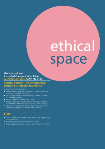 Ethical Space Vol.10 Issue 2/3