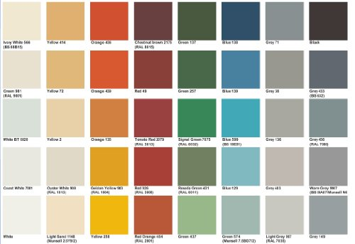 Ral Colour Wood Paint