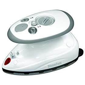 SteamFast SF-717 Home-and-Away Mini Steam Iron (dual voltage)