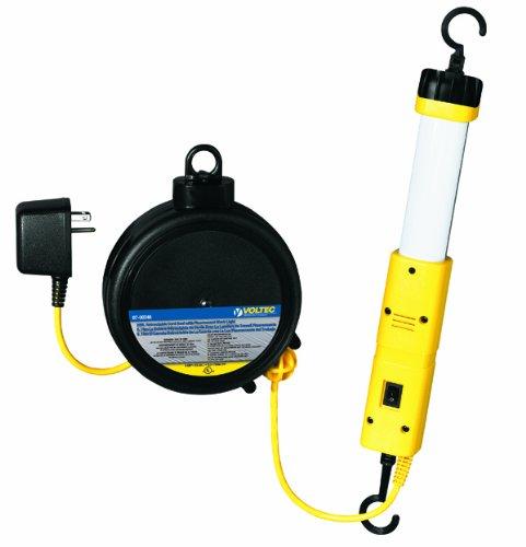 Images for Voltec 07-00246 18/2 SVT 13-Watt Fluorescent Tube Light with Retractable Reel, 20-Foot, Yellow & Black