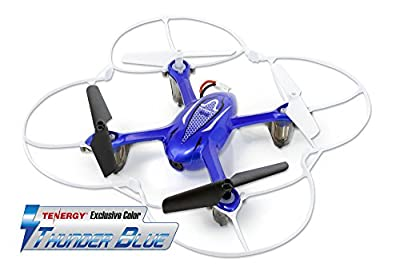 Syma X11C 4 Channel 2.4Ghz RC Quadcopter with 2MP HD Camera (Tenergy Exclusive Thunder Blue)
