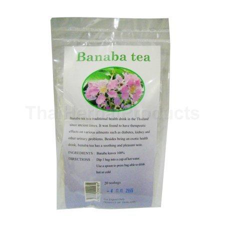 Lagerstroemia Banaba Tea, 20 Teabags, Thanyaporn Thailand