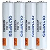 オリンパス 単4形ニッケル水素充電池パック(4本組) BR404