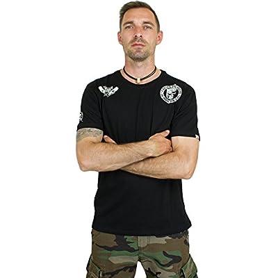 Yakuza Premium T-Shirt Tiger & Skull schwarz