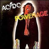 AC/DC Powerage steel fridge magnet