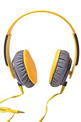 Musix Mania Headset with MIC Compatibility  with-DTS Like Experience +OnePlus 3 Lenovo Vibe K5,Moto G Plus 4th Gen, Cool pad Max, Cool pad Note 3 Plus, Meizu m3 note, Lenovo ZUK Z1, LYF WATER 5, Blu Life Mark, Lenovo K4 Note, Intex Cloud Crystal 2.5D, Lenovo Vibe X3,Coolpad Note 3 Lite Lenovo Vibe S1, OnePlus X,Coolpad Note 3 OnePlus 2 and all APPLE / ANDRIOD & WINDOWS mobiles-HOH-90-YELLOW-MM