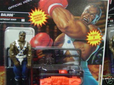 Picture of Hasbro G.I. Joe Street Fighter II Balrog Heavyweight Boxer 3 3/4