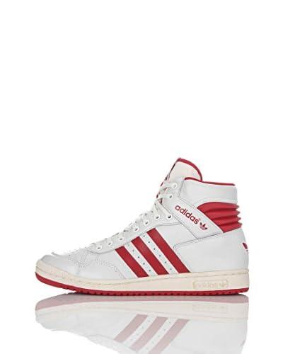 adidas Zapatillas Casual Hi  EU 40 2/3 Blanco / Rojo
