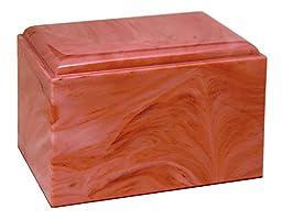 Stratus - Adult Cremation Urn - Rose Quartz