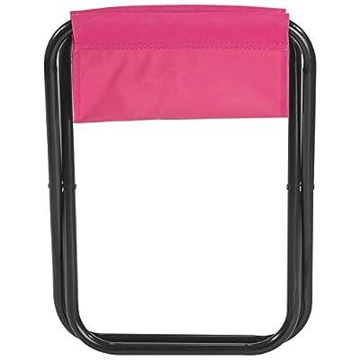 Camping Klapphocker Pink von Vertrieb durch presents & more - Gartenmöbel von Du und Dein Garten