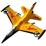 AMG EPP Rc Airplane - 200ft Control Distance - Color Yellow - Stunt Rc Airplane by AMG