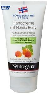 Neutrogena Nordic Berry Handcreme, 3er Pack (3 x 75 ml)