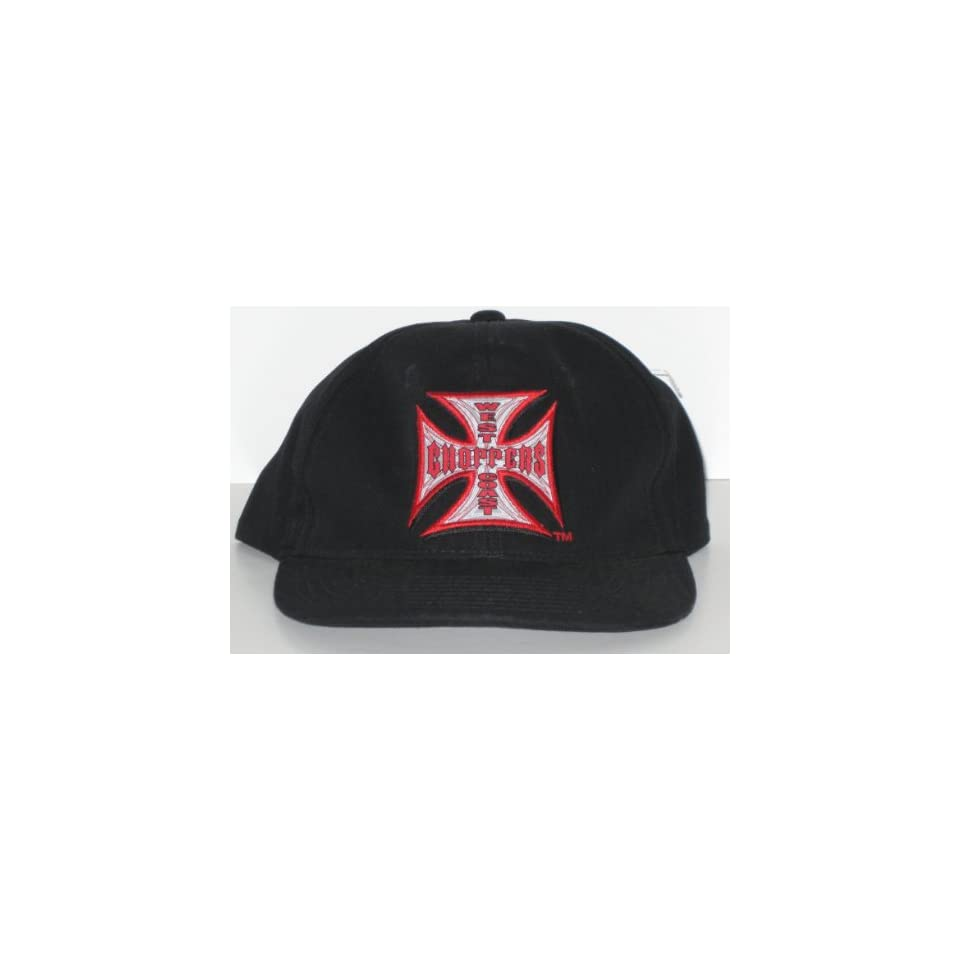 West Coast Choppers Jesse James Black Adjustable Hat