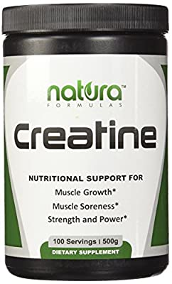 BLACK FRIDAY SALE - SAVE 56% - #1 Pure Micronized Creatine Monohydrate Powder - 100 Servings | 500g - Unflavored - Best Bodybuilding Supplement to Boost Power, Reduce Soreness and Build Muscle Mass