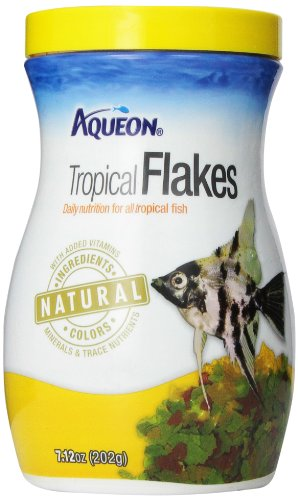 Aqueon 06034 Tropical Flakes, 7.12-Ounce
