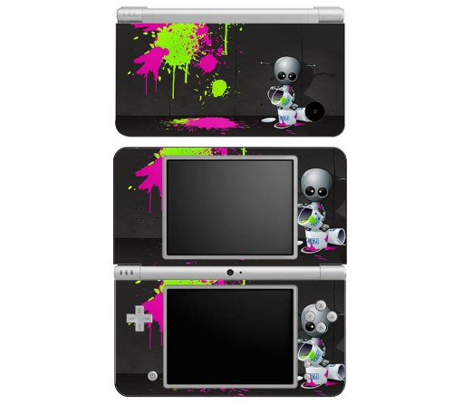 Baby Robot Decorative Protector Skin Decal Sticker for Nintendo DSi XL Handheld Portable Video Game Console