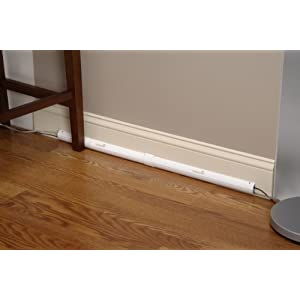Image: Safety 1st Wire Hider - Covers cords and wires for a safer room and cleaner look.