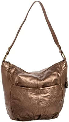 The SAK Iris Hobo,Copper Metallic,one size
