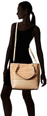 Calvin Klein 3 PH Jacquard Tote Shoulder Bag