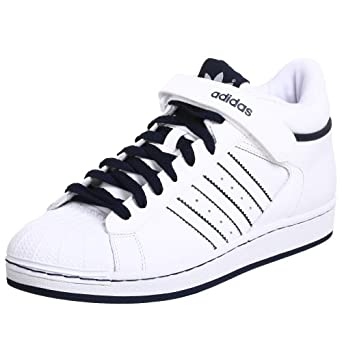 adidas Originals Men's Pro Shell Sneaker,White/White/Navy,14 M US