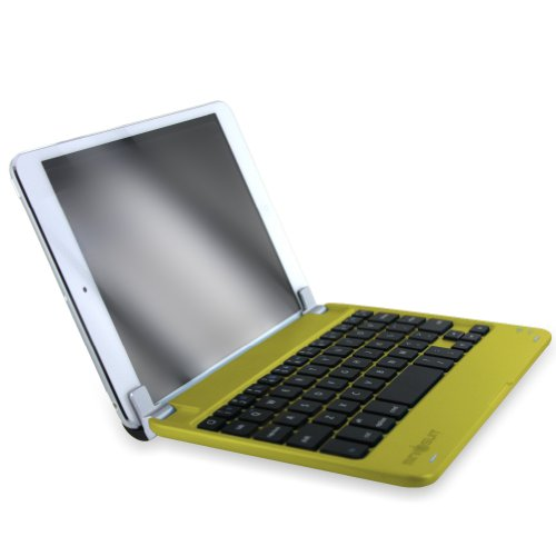 MiniSuit NewYorkApple iPad mini Bluetooth ワイヤレス キーボード スタンドカバー スリープ機能付き ハード素材 サテンフィニッシュ 全5色 イエロー