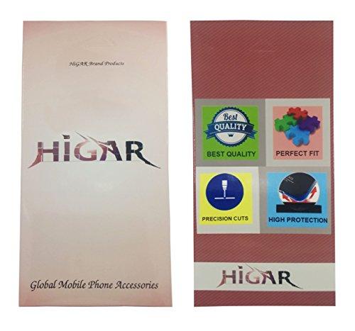 Higar F2 with Higar Retail Box Royal Toughened Glass thin aluminium Frame back Replacement Case Cover for Yu Yureka Plus / Yu Yureka - Black Silver